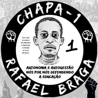 Nota de apoio à chapa 1 da UEL – Rafael Braga