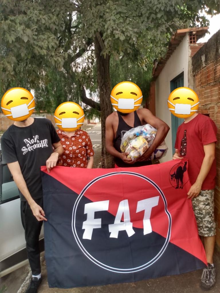 """Os """"passos"""" seguem firmes! Campanha de Solidariedade em Goiânia"""