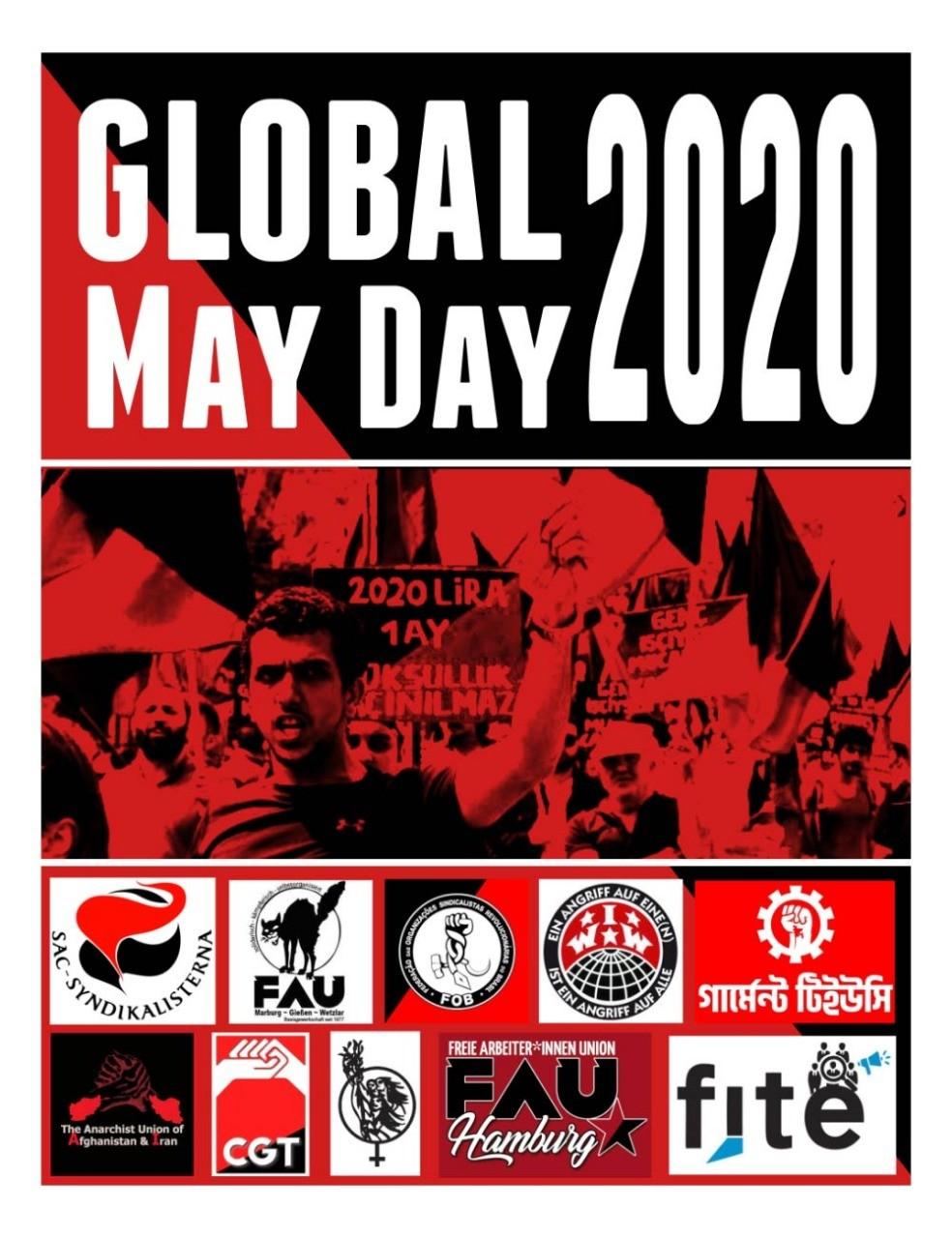 Chamada para o Primeiro de Maio Global de2020