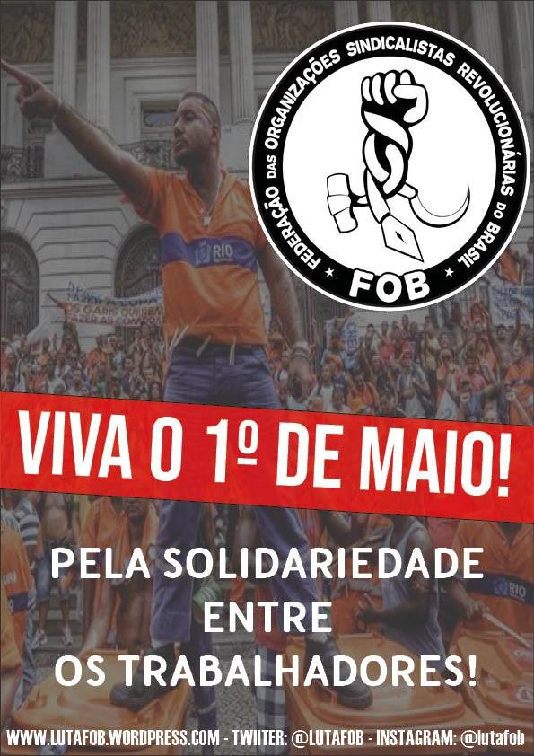 Por um 1º de maio de luta pela vida e contra o capital
