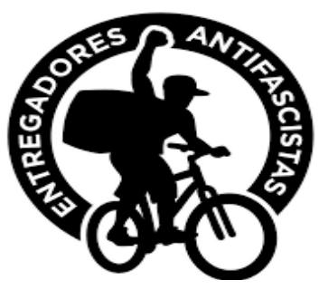Manifesto de repartidores antifascistas – RJ (Espanhol)