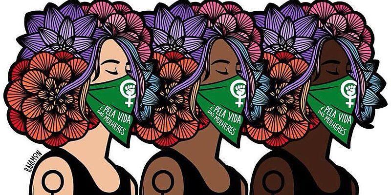 Pelo direito à vida! Pelos direitos das mulheres! Contra a hipocrisia religiosa!