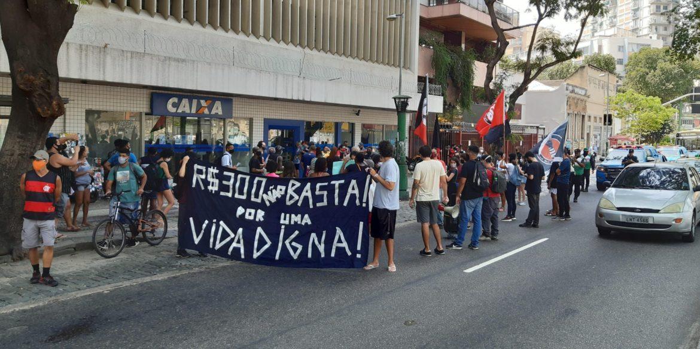 Ato Por uma Vida Digna exige manutenção do auxílio emergencial de 600 reais até o fim da pandemia