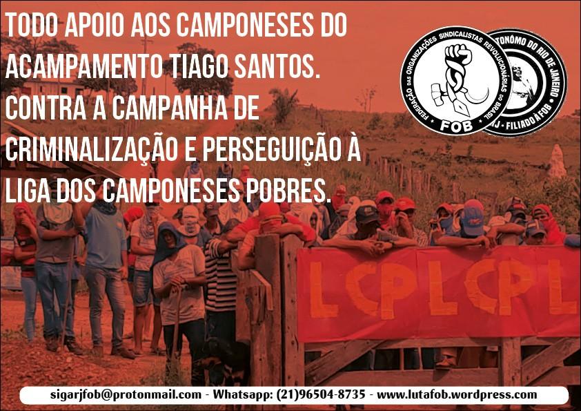 Governador de Rondônia, Coronel Marcos Paulo, ataca famílias camponesas