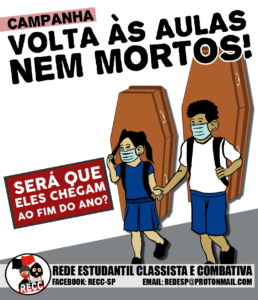 volta as aulas nem mortos