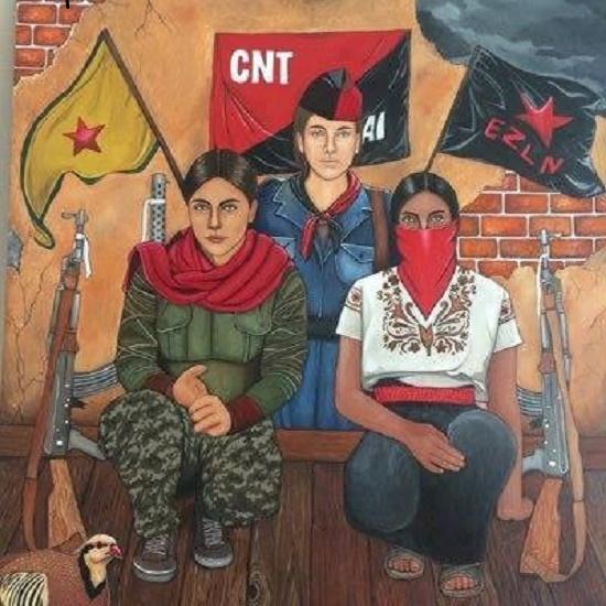 Sobre a chegada em Madri das delegações zapatistas, do CNI-CIG e da Frente dos Povos em Defesa da Água e da Terra de Morelos, Puebla e Tlaxcala
