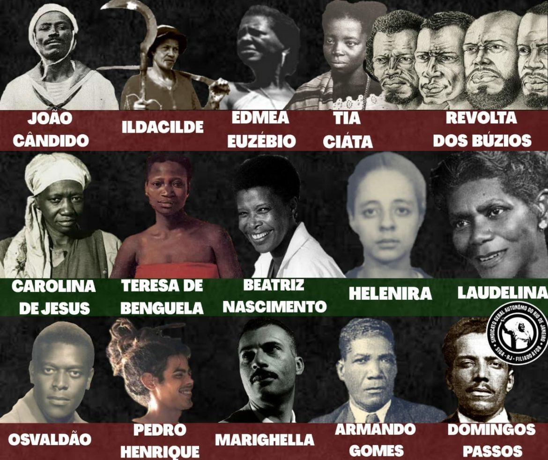 20 de Novembro: Dia de Zumbi, dia de lembrar as lutas contra o racismo e o genocídio do povo preto