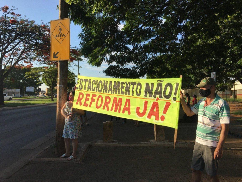 Protesto pelo Centro de Saúde nº 08 agita o Gama