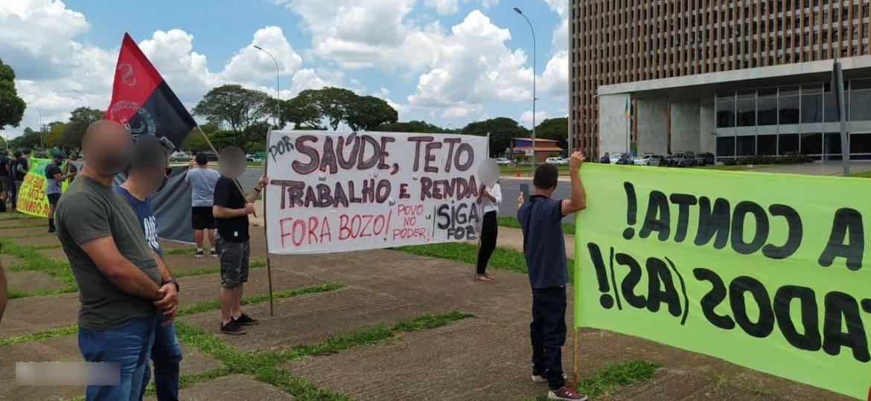 Protestos contra a privatização do SUS, da CEB e da Rodoviária ocorrem no DF