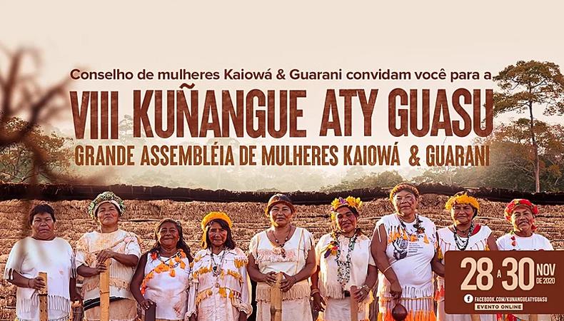 Chamado das mulheres Kaiowá e Guarani: Manifesto da VIII Kunangue Aty Guasu