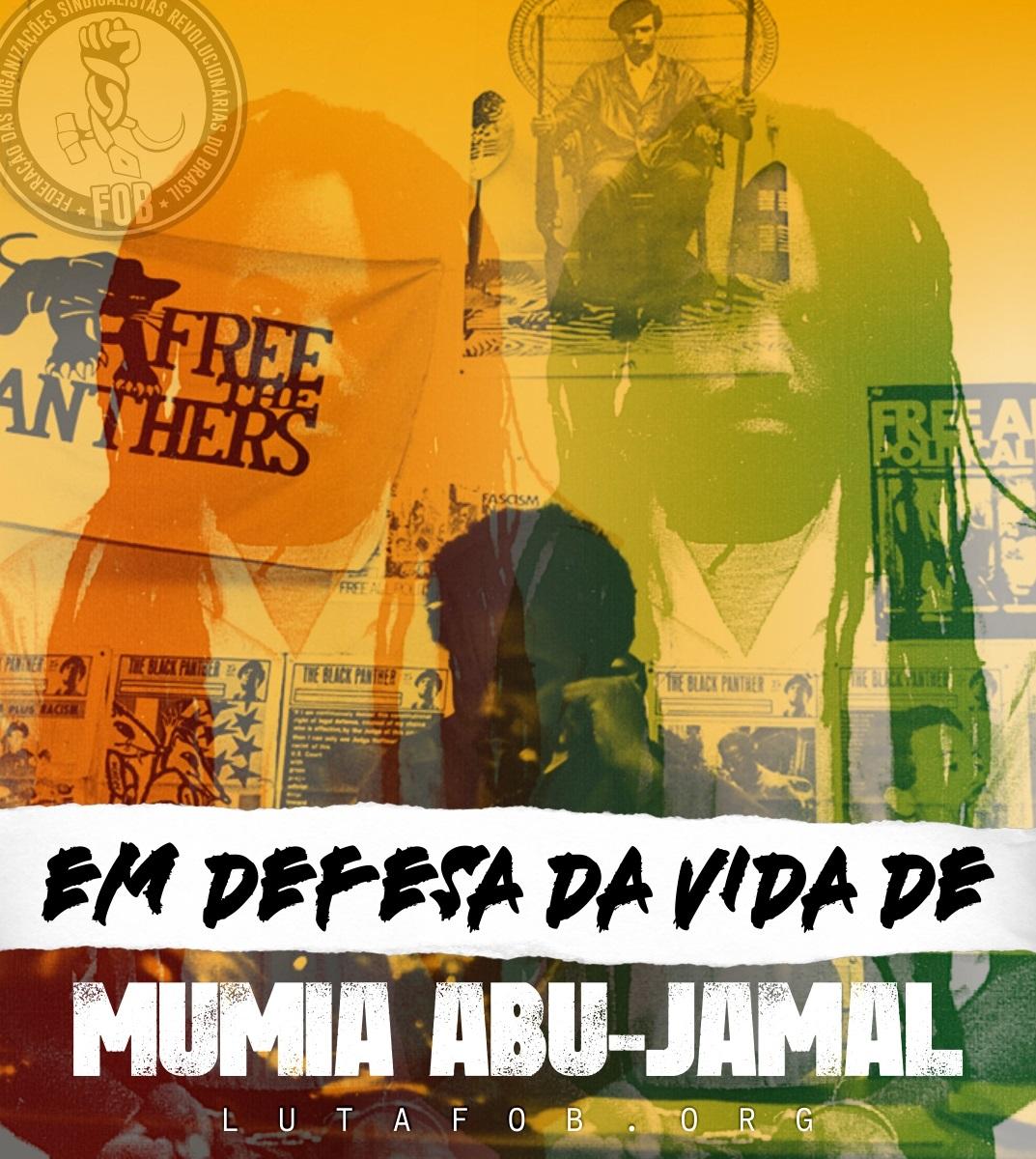 EUA | Solidariedade urgente em defesa da vida e liberdade Mumia Abu-Jamal