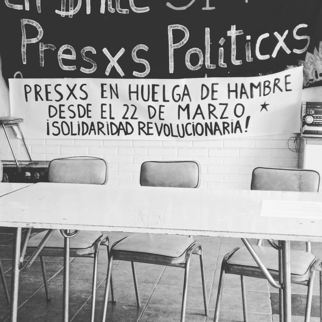 CHILE | Comunicado da Greve de Fome dos presos políticos da revolta