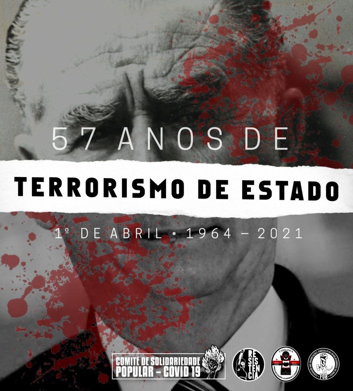 Golpe empresarial-militar de 1964: lutar contra o Estado policial e o terror institucional que permanecem
