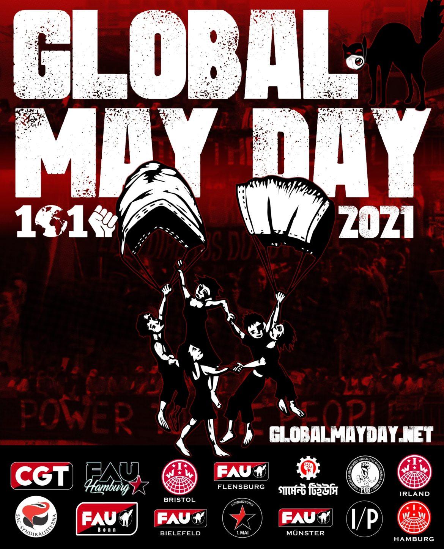 INTERNACIONAL | Manifesto do 1º de Maio Global – UM MUNDO, UMA LUTA!