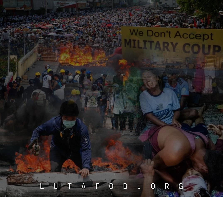 CIT | Chamada internacional de solidariedade com o movimento de desobediência civil em Mianmar