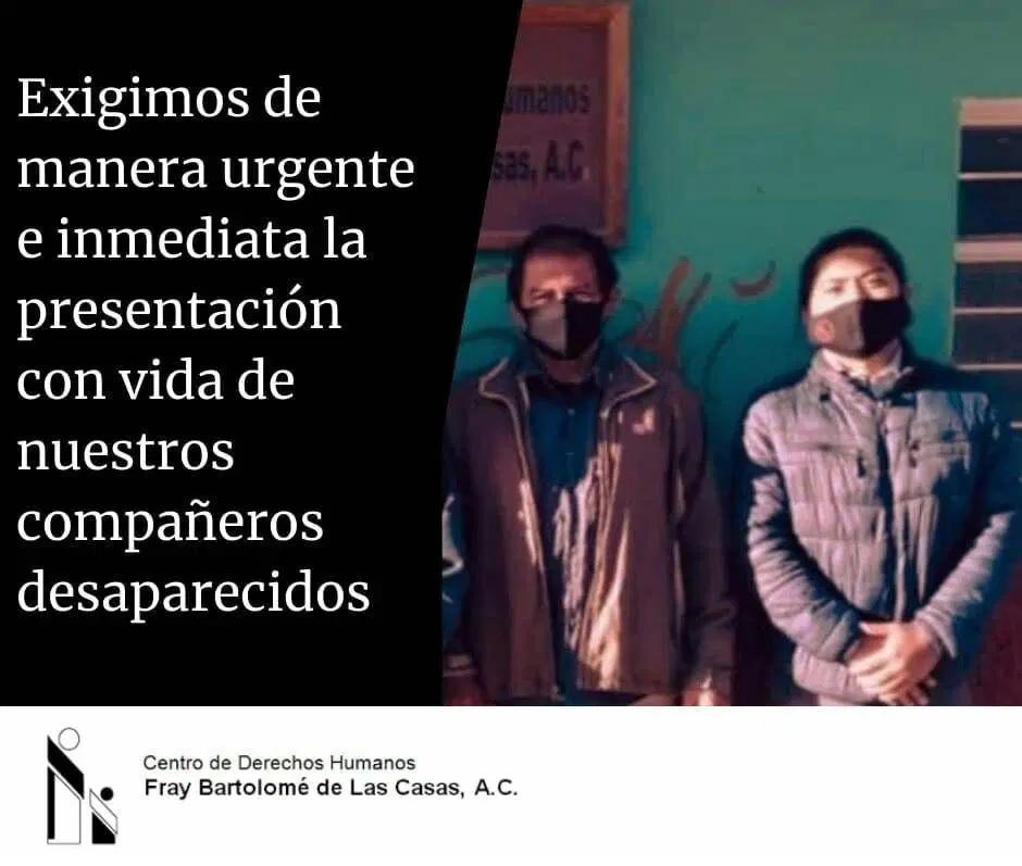 MÉXICO | Privação arbitrária da liberdade de integrantes do Frayba