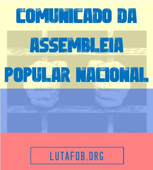 DECLARAÇÃO POLÍTICA DA ASSEMBLEIA POPULAR NACIONAL (Colômbia)